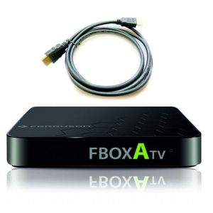 FBOX ATV + przewód HDMI - smart tv box