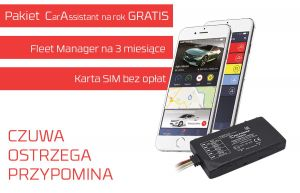 Ferguson Car Assistant FMB920 + pakiet Car Assistant na rok z kartą SIM