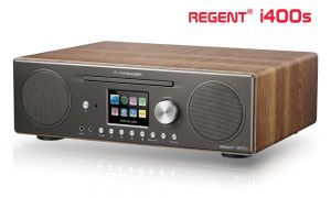 Radio internetowe REGENT i400s - funkcja Spotify, DAB+, FM, CD, WiFi, Bluetooth