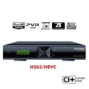 Ariva 254 Combo - satellite & terrestrial/cable HEVC
