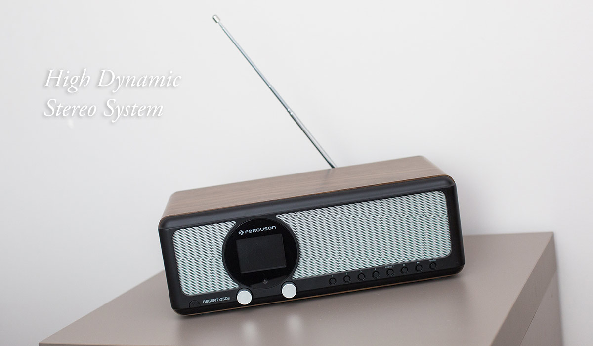 Retro Design - radio internetowe regent i350s