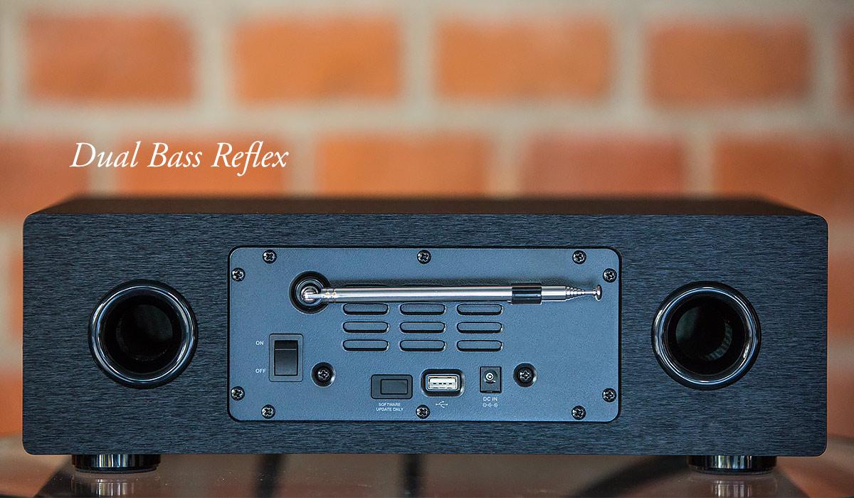 Dual bass reflex regent