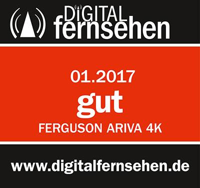 Ferguson Ariva 4K - test wydawnictwa Digital Fernsehen
