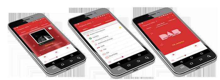 Bezpłatna aplikacja do sterowania radiem internetowym - Ferguson i400s