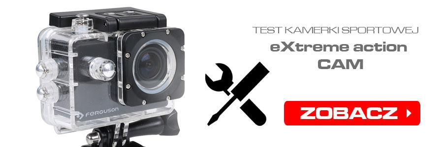 Test kamerki Ferguson eXtreme Action CAM