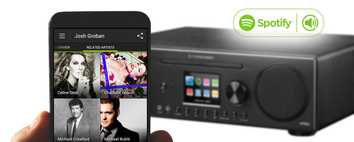 Spotify Connect - radio internetowef Ferguson i400s